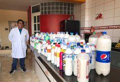 Áncash: farmacéutico transforma cocina en laboratorio para fabricar jabón líquido ante el COVID-19