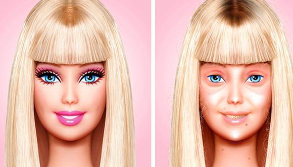 "¿Una Barbie 'real'? Artista promueve así la ""belleza natural"""