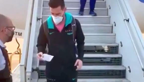 Este video de Lionel Messi se viralizó en las redes sociales. ¿Quieres saber por qué? Lee la nota. (Foto: Captura)