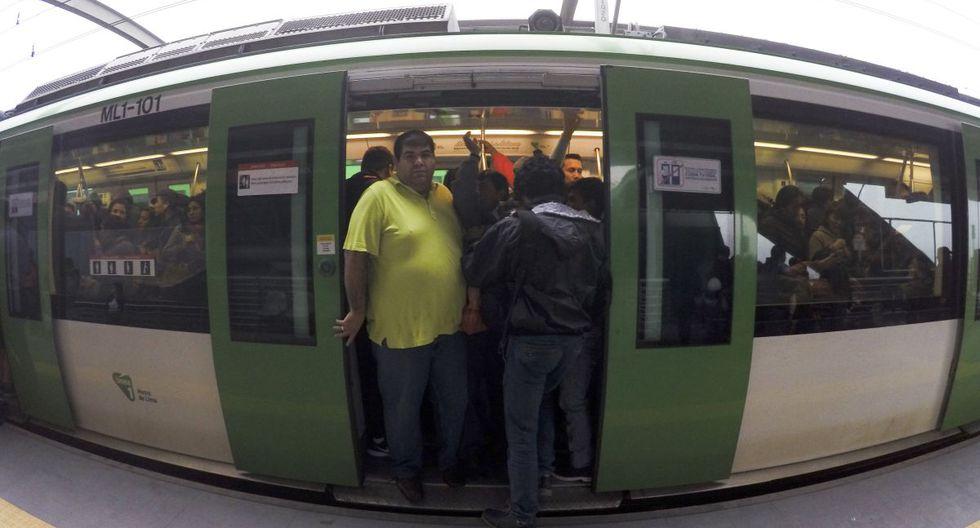 La Línea 1 del Metro de Lima es uno de los servicios de transporte masivo. (GEC)