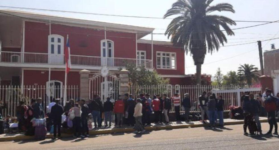 Venezolanos en Perú: gobernador de Tacna exhorta a consulado de Chile a atender pedido de visa