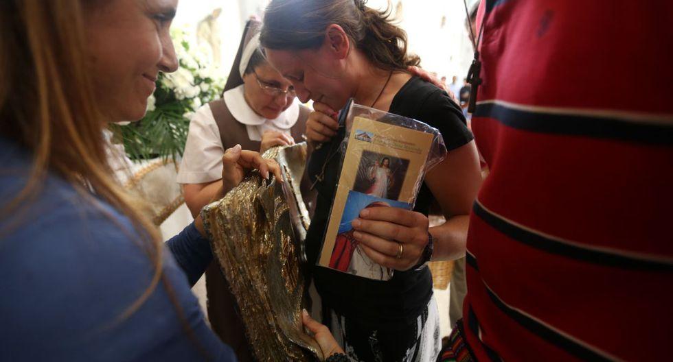 Fervor religioso en Surco por reliquia de Juan Pablo II - 4