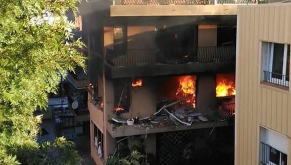 España: Un muerto y 17 heridos tras explosión en edificio