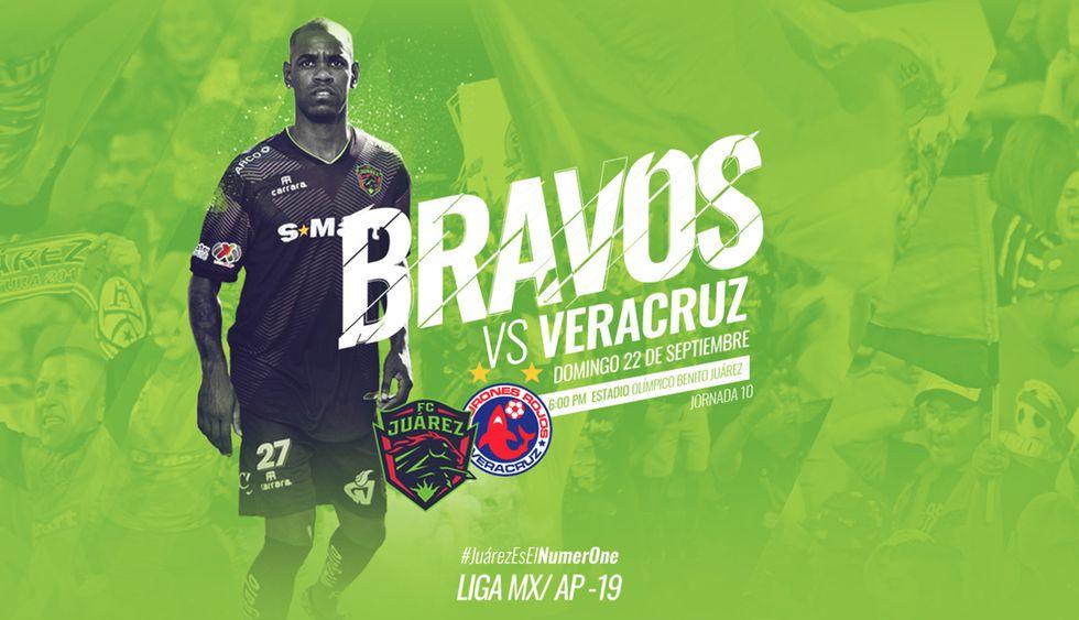 Juarez vs. Veracruz por primera vez se verán las caras en la Liga MX. (Foto: FC Juarez)