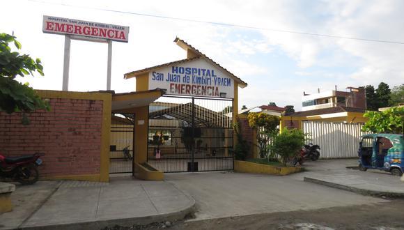Un varón y una mujer son los casos sospechosos de coronavirus en esta zona del Vraem. (Foto: Jorge Quispe)