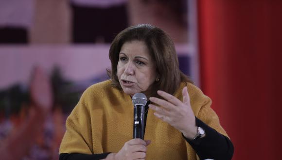 Lourdes Flores Nano representa a Fuerza Popular en las apelaciones por las nulidades contra mesas de votación. (Foto: archivo GEC)