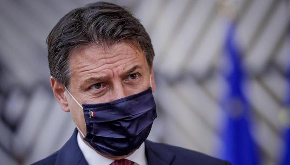 El primer ministro de Italia Giuseppe Conte. (EFE/EPA/OLIVIER HOSLET).