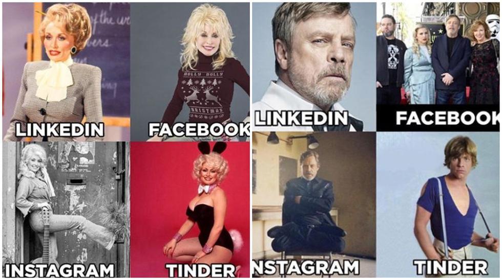 Mark Hamill y otros famosos que se han dejado llevar por el #DollyPartonChallenge. (Fotos: Instagram)