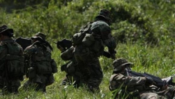 Un agente del Ejército murió tras un enfrentamiento contra una columna narcoterrorista en el Vraem (Foto: GEC)