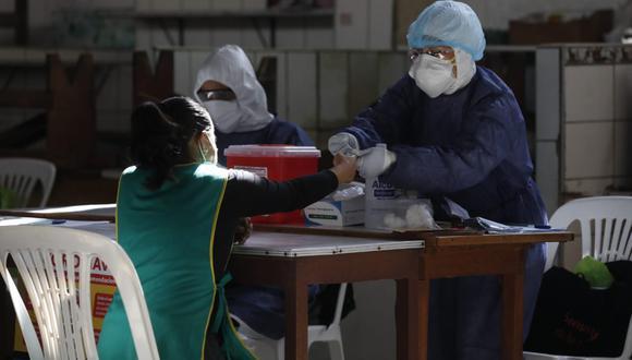 Solo en Lima Metropolitana 390.280 ya han dado positivo para coronavirus durante las pruebas de descarte, según la Sala situacional del Minsa (Foto: Diana Marcelo)