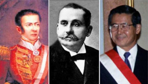 Riva-Agüero, Billinghurst y Fujimori son los tres presidentes vacados en nuestra historia.