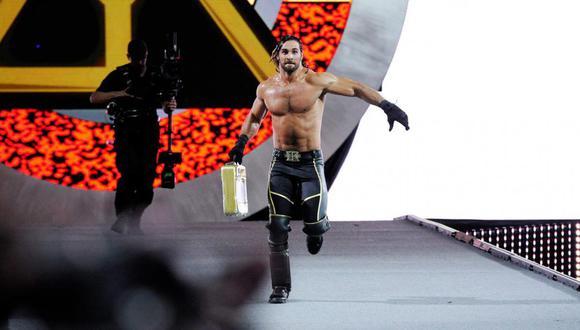 Hace cinco años, Seth Rollins sorprendió al mundo al canjear el MITB y convertirse en campeón en WrestleMania 31 | Foto: WWE