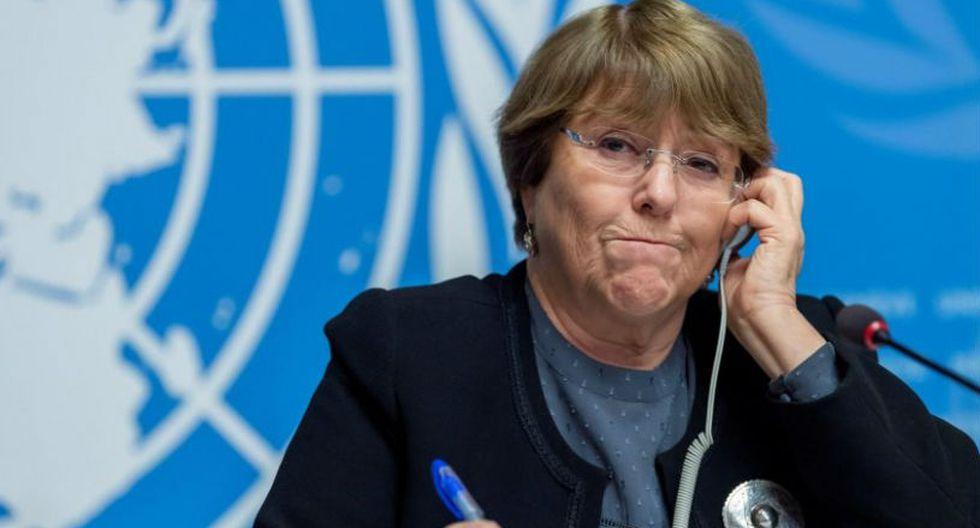 Michelle Bachelet se manifestó en Davos done participa en el Foro Económico Mundial. (Foto: EFE)