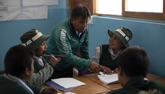 Demandan también una respuesta urgente a la contratación de personal a través de Contratos Administrativos de Servicios (CAS) para fortalecer los servicios de las UGEL. (Foto: Anthony Niño de Guzman/Referencial)