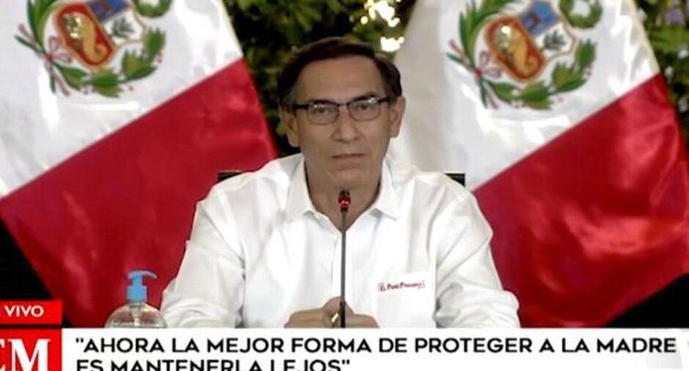 Martín Vizcarra envió emotivo mensaje por el día de la madre NNAV   Martín Vizcarra    coronavirus en perú   día de la madre Martín Vizcarra envió emotivo mensaje por el día de la madre   El Comercio Perú