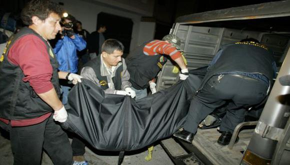 Lima, Trujillo y Callao registraron más homicidios el 2013