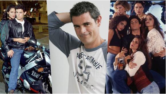 """Julián Legaspi protagonizó """"Calígula"""", una de las telenovelas más populares de los noventa en el Perú. (Fotos: Archivo histórico de El Comercio)"""