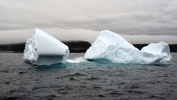 El año en que se hundió el Titanic no hubo muchos icebergs