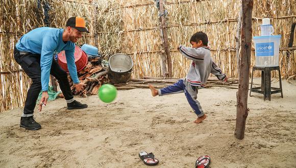 Sergio Ramos recordó su visita al Perú hace tres años con emotivo mensaje. (Foto: EFE)