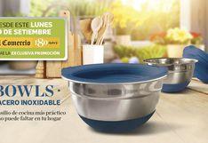 BOWLS DE ACERO INOXIDABLE, el utensilio de cocina más práctico para el hogar.