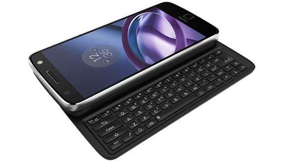 El teclado Livermorium es compatible con toda la familia Moto Z.