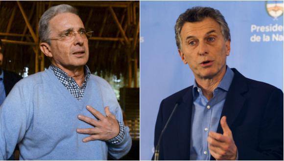 Uribe: Me dolió que Macri apoyara acuerdo de paz con FARC