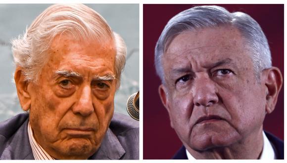 """Mario Vargas Llosa dice que con AMLO México podría volver a la """"dictadura"""". (Foto: Archivo/AFP/EFE)."""