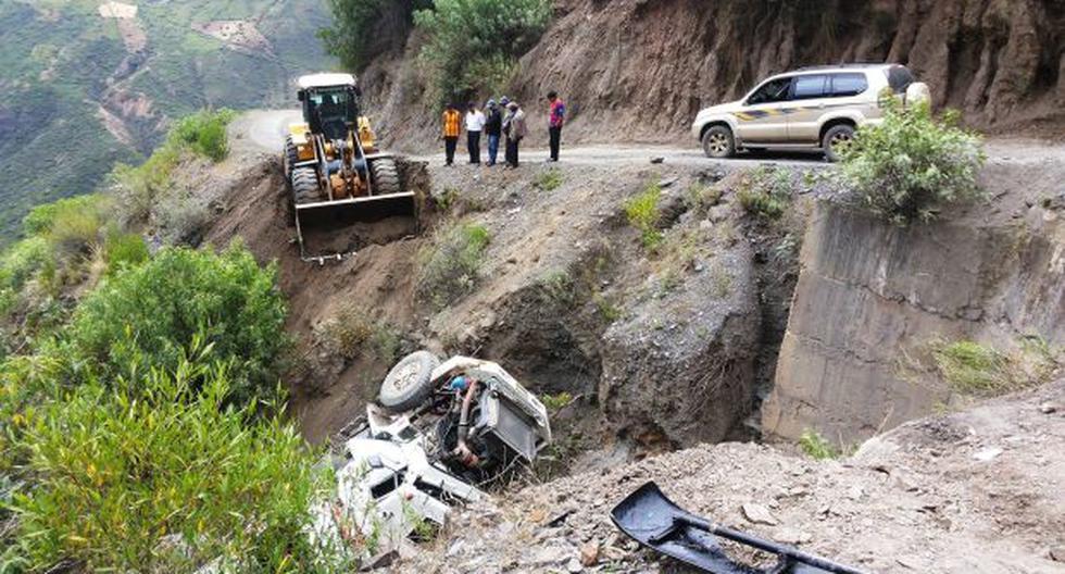 Áncash: caída de camión deja un muerto y dos heridos - 2