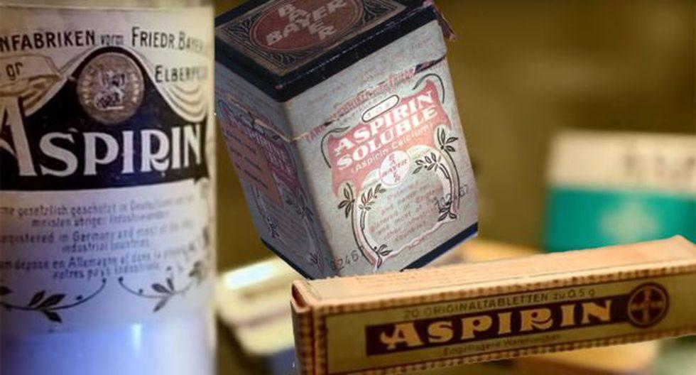 Finalmente, la aspirina salió al mercado e hizo historia.
