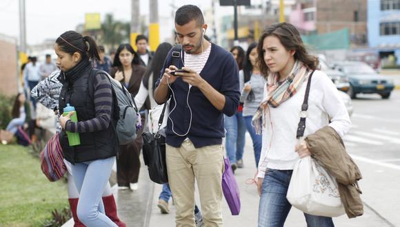 Estudiantes universitarios. (Foto: GEC)