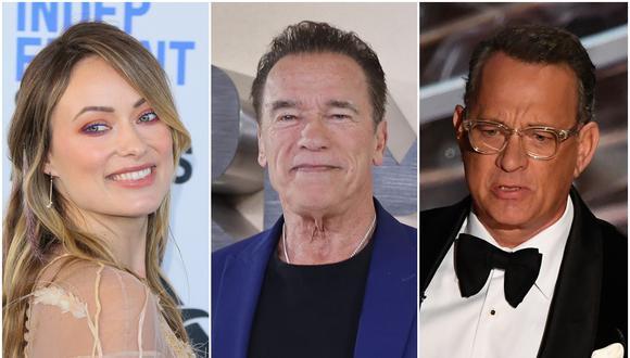 Olivia Wilde, Arnold Schwarzenegger y Tom Hanks pidieron a sus seguidores tomar las precauciones necesarias para evitar la expansión del coronavirus. (Foto: AFP)