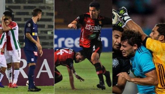Las estadísticas de Alianza Lima, Melgar y Sporting Cristal son de las peores en la Copa Libertadores 2019. (Foto: AFP).