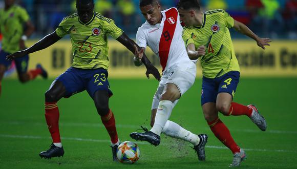El 15 de noviembre del año pasado la selección de Ricardo Gareca disputó su último partido, ante Colombia en un amistoso en Miami (0-1). (Foto: GEC/Daniel Apuy).