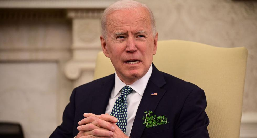 """Biden says violence against people of Asian descent is """"very concerning"""" after shooting in Atlanta"""