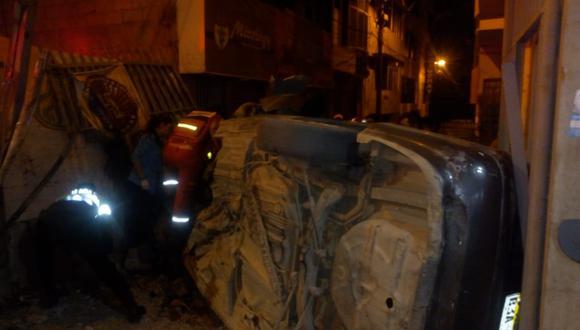 Apurímac: universitario muere en accidente vehicular y otro queda gravemente herido