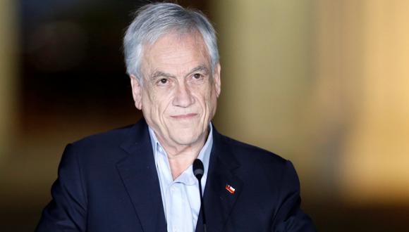 Se ve al presidente de Chile, Sebastián Piñera, durante una reunión con el presidente de Colombia, Iván Duque, en el palacio presidencial Cerro Castillo, en Viña del Mar, el 8 de noviembre de 2020.. (REUTERS/Rodrigo Garrido).