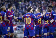Barcelona se convirtió en el equipo más goleador en la historia de la Liga de España