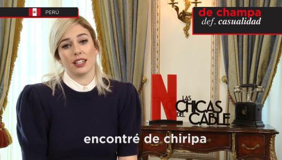 """Actores de """"Las chicas del cable"""" tratan de adivinar algunos términos muy usado en Latinoamérica. (Foto: YouTube)"""
