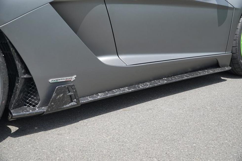 El Lamborghini Aventador S by Mansory incluye nuevos paragolpes, difusor, faldones y hasta un alerón en fibra de carbono. (Fotos: Mansory).