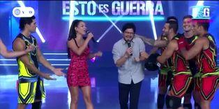 Gian Piero Díaz se reincorporó a la conducción de 'Esto es guerra'