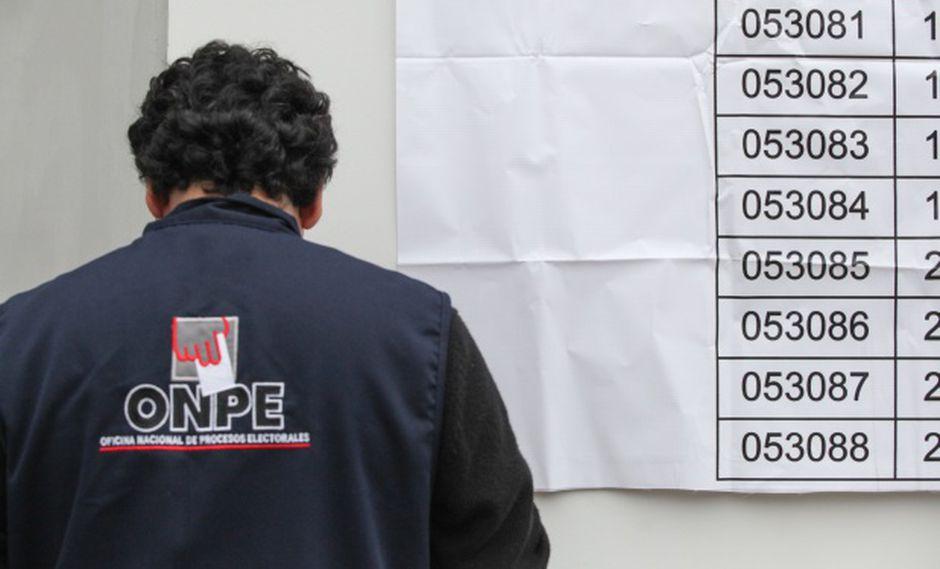 ONPE: franja electoral será desde 25 de mayo hasta 3 de junio