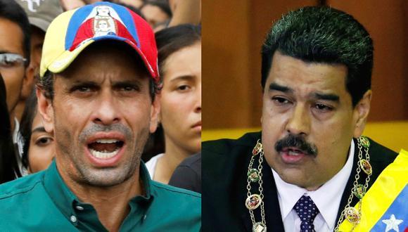 Capriles llama a tomar las calles tras anuncio de Constituyente