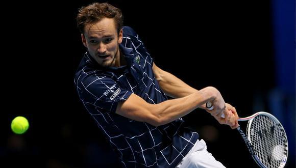 Daniil Medvedev pasó a las finales (Foto: Twitter ATP Tour)