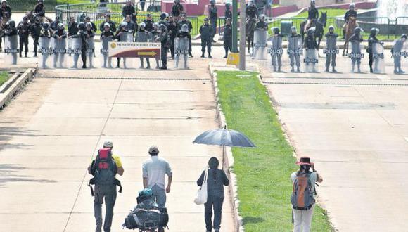 Paro en Cusco detuvo actividades y perjudicó a 5.000 turistas