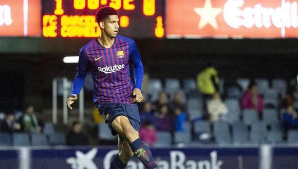 Ronald Araujo empezó su carrera profesional en el Rentistas de Uruguay. (FC Barcelona)