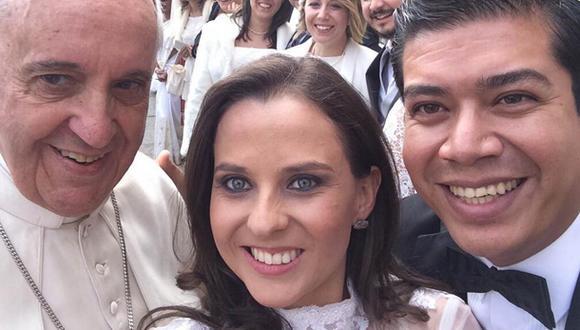 El último selfie del papa Francisco