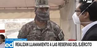 Coronavirus en Perú: convocatoria de reservas del Ejército inicia el miércoles 1 de abril