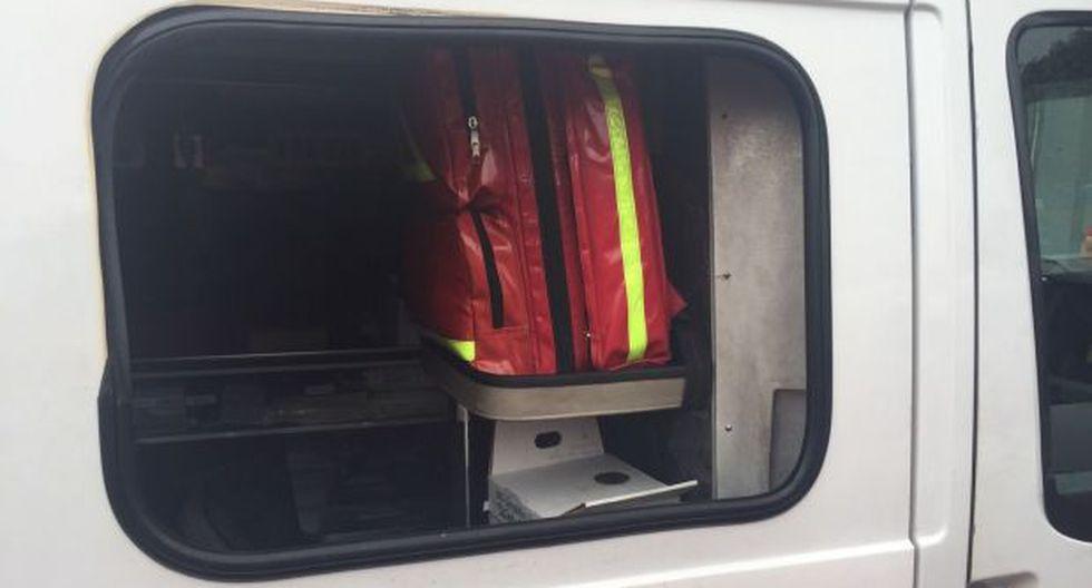 Breña: roban desfibrilador de ambulancia de los bomberos - 1