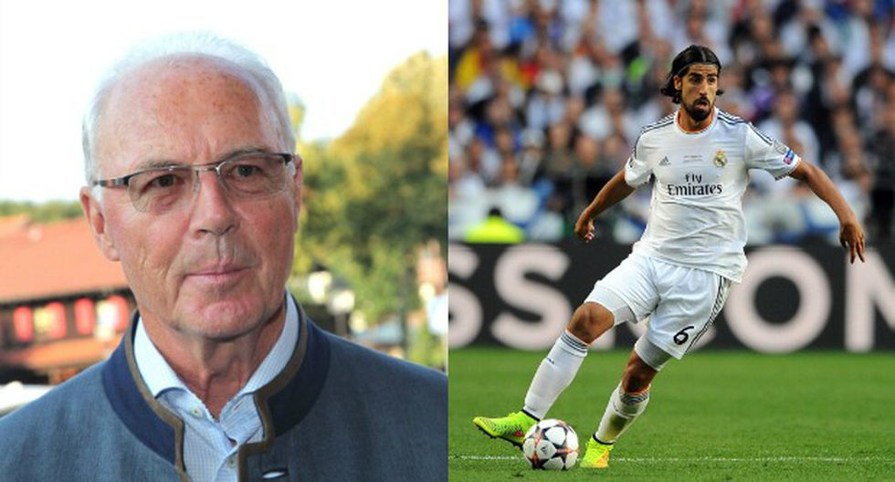 Franz Beckenbauer quiere a Sami Khedira en el Bayern Múnich