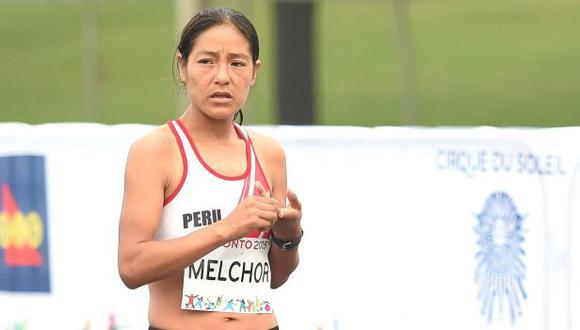 Toronto 2015: Inés Melchor quedó quinta en 10 mil metros planos